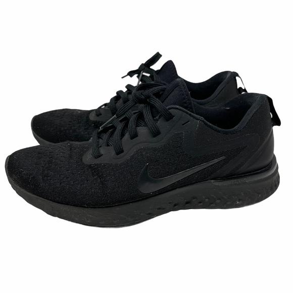 Nike Odyssey React Triple Black Sneakers Size 7.5